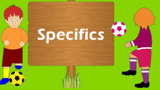 Specifics – Fun and games – So easy and yet so hard